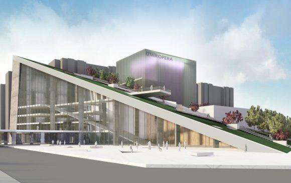 İzmir Opera Binası Yarışma Projesi