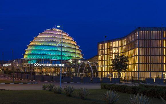 Rwanda Kigali Congre Center and Raddison Blu Hotel